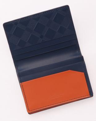 24 マルチカラークレストブリッジチェックカードケースを見る