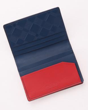 28 マルチカラークレストブリッジチェックカードケースを見る