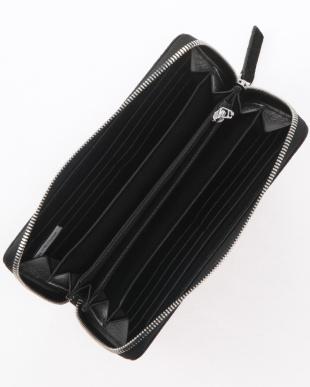 ブラック エレファントラウンド長財布を見る