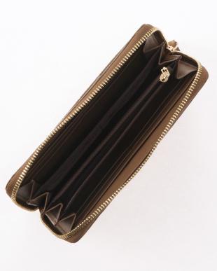 キャメル マットクロコダイル長財布を見る