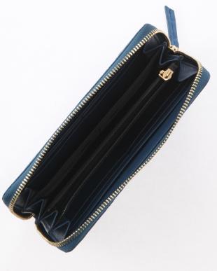 デニム マットクロコダイル長財布を見る