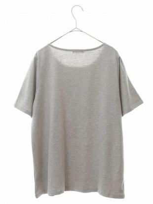 ライトグレー 【大きいサイズ】【a.v.v×eur3】ロゴプリントTシャツ eur3を見る