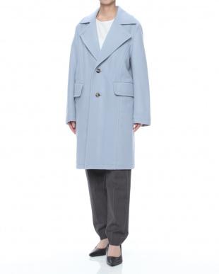 薄ブルー コートを見る