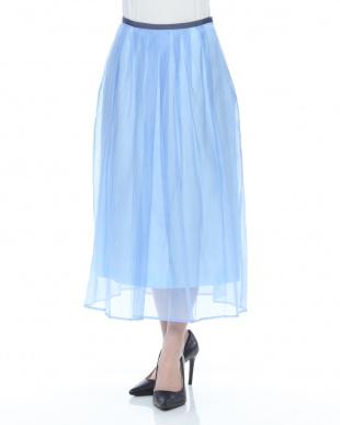 薄ブルー  スカートを見る