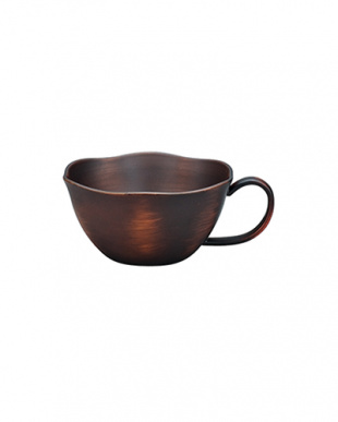 ダークブラウン 花スープカップ 5個セットを見る
