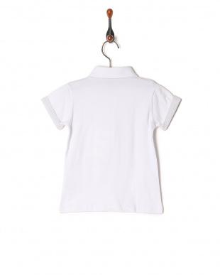 ホワイト ポロシャツを見る