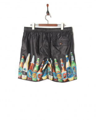 BLACK ALOHA SHORTS(BEER)を見る