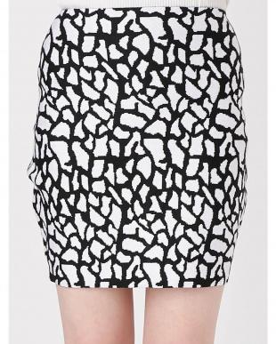 ブラック ベビージラフニットスカート RESEXXYを見る