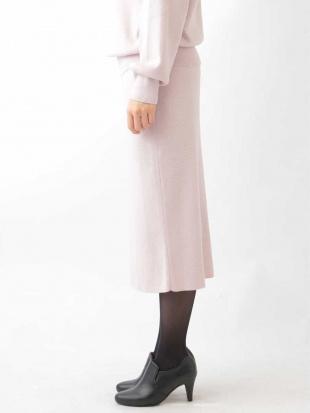 ピンク ニットタイトスカート MK MICHEL KLEINを見る