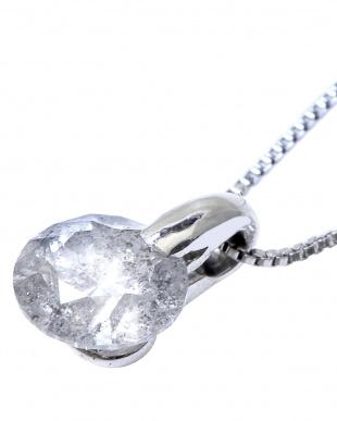 Pt 天然ダイヤモンド 0.5ctアップ ワンポイント留め プラチナネックレスを見る