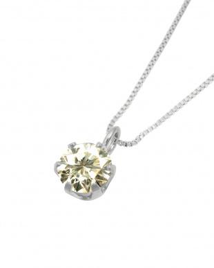 Pt 天然ダイヤモンド 0.3ct SIクラス プラチナ6本爪ネックレス・  ベネチアンチェーンを見る