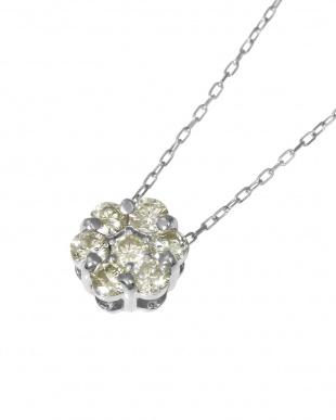Pt 天然ダイヤモンド 計0.5ct セブンストーンペンダントを見る