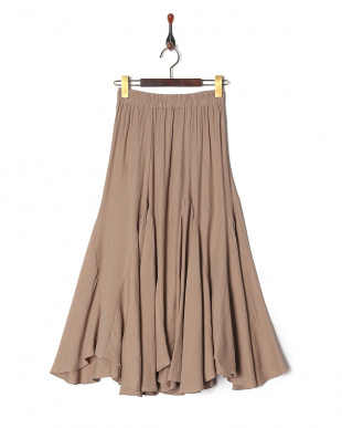 BEIGE SOLID FLARE MAXIを見る