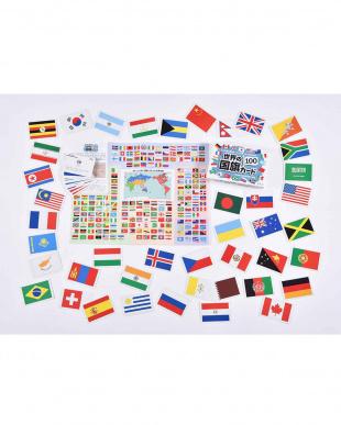 世界の国旗カード100を見る