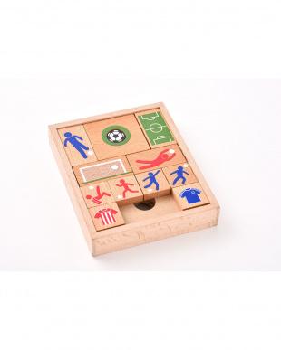 木製パズル&ゲーム スライドサッカーを見る