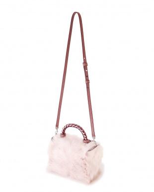ピンク ELENA GHISELLINI バッグ アドーアを見る