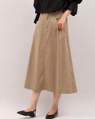 ネイビー グリストーンAラインスカート Maison de Beigeを見る