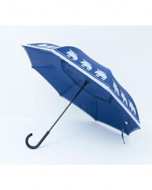 インディゴ moz 2重傘 circus(サーカス) 晴雨兼用を見る