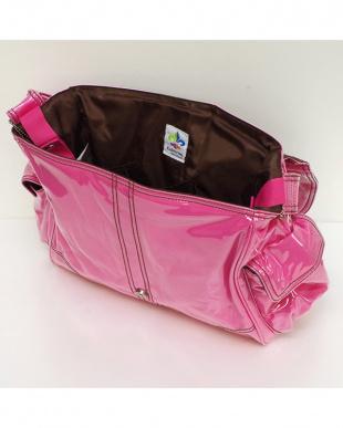 ホットピンク コーデュロイ バックルバッグを見る