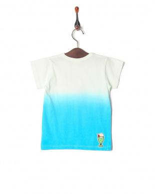 ブルー 段染めTシャツを見る