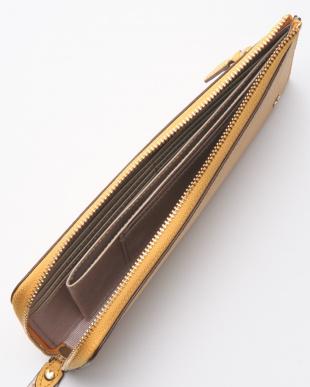86-ライトヤマブキ イタリアンシュリンクレザー・Lファスナー長財布 TINTA ティンタを見る