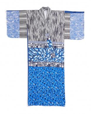 マルチ YUKATA 切替デザイン 羽織風トップを見る