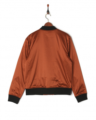 RRMT LS STRETCH SATIN BOMBERを見る