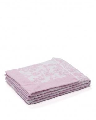 ピンク 「使いやすいボリューム」今治タオルケット ジャカード 約975gを見る