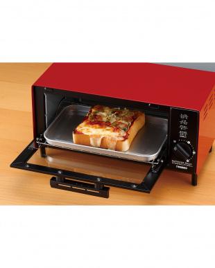 レッド オーブントースターを見る