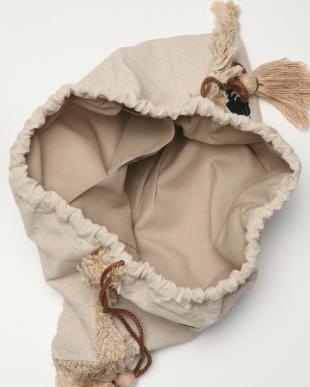 GREEN モチーフ刺繍巾着を見る