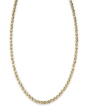 イエローゴールド K18YG デザインチェーン ネックレス 50cmを見る