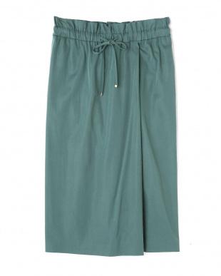 グリーン ラップ風スカート ヒューマン ウーマンを見る