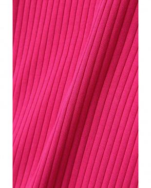 ピンク1 リブ半袖カットソー R/B(オリジナル)を見る