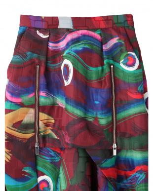 ボルドー アイズレイヤードスカート UN3D.を見る