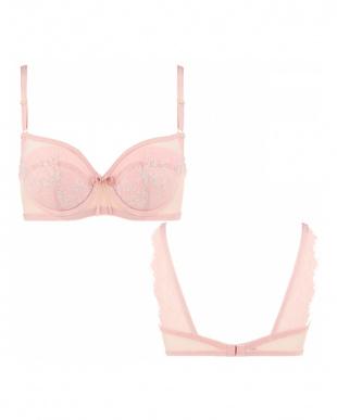 ピンク AMSTDR046 WHU ドレス046 ブラジャーを見る