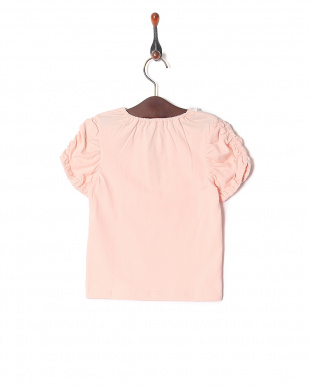 ピンク ハートレースTシャツを見る