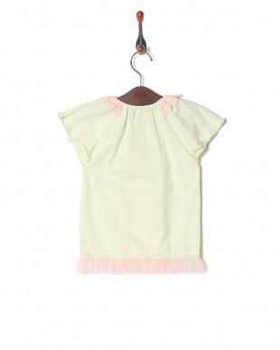 グリーン フルーツプリントTシャツを見る