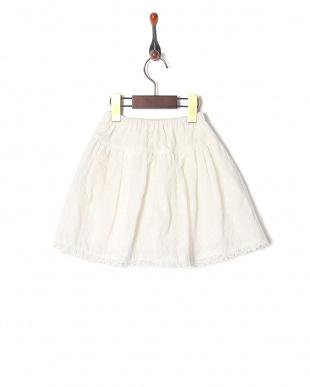 オフシロ オーバーレーススカートを見る