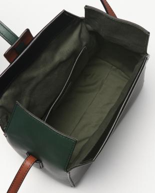黒系 カラーMIXボックスショルダーバッグを見る