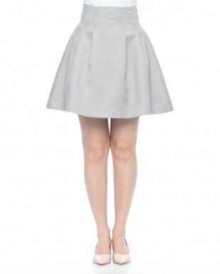 パープル タックボンディングスカートを見る