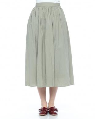 カラーギャザースカートを見る