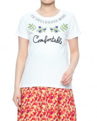 刺繍&ロゴプリントTシャツを見る