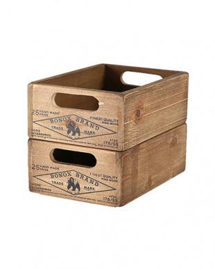 木製スタッキングストッカーボックスを見る