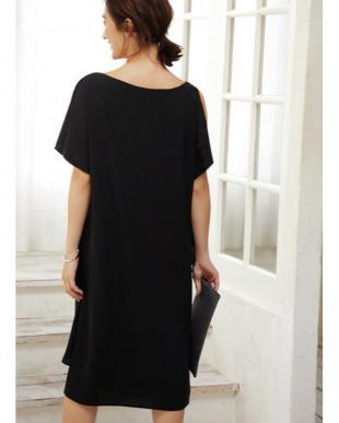ブラック [STYLE DELI dress]ショルダーリボン2WAYワンピースを見る