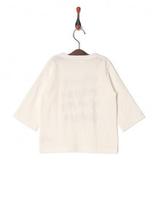 ホワイト  アルティメイトテンジク ロゴ7ブソデTシャツを見る