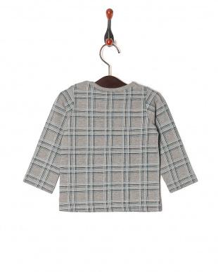 グレー 20/-テンジクカラフルPT ベビーL/S Tシャツを見る