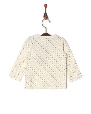 ホワイト 20/-テンジクカラフルPT ベビーL/S Tシャツを見る