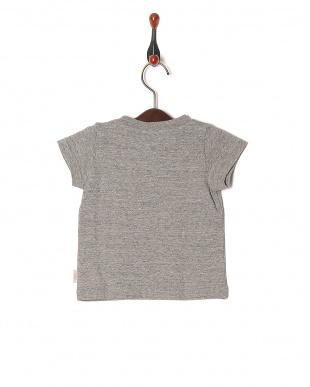 グレー 16/-サークルエアーテンジク ロゴPT ベビーS/S Tシャツを見る
