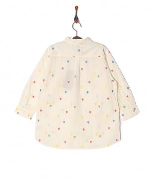 ホワイト  キキュウ JQ 7ブソデ ボタンダウンシャツを見る