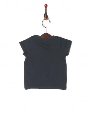 チャコールグレー 16/-サークルエアーテンジク ロゴPT ベビーS/S Tシャツを見る